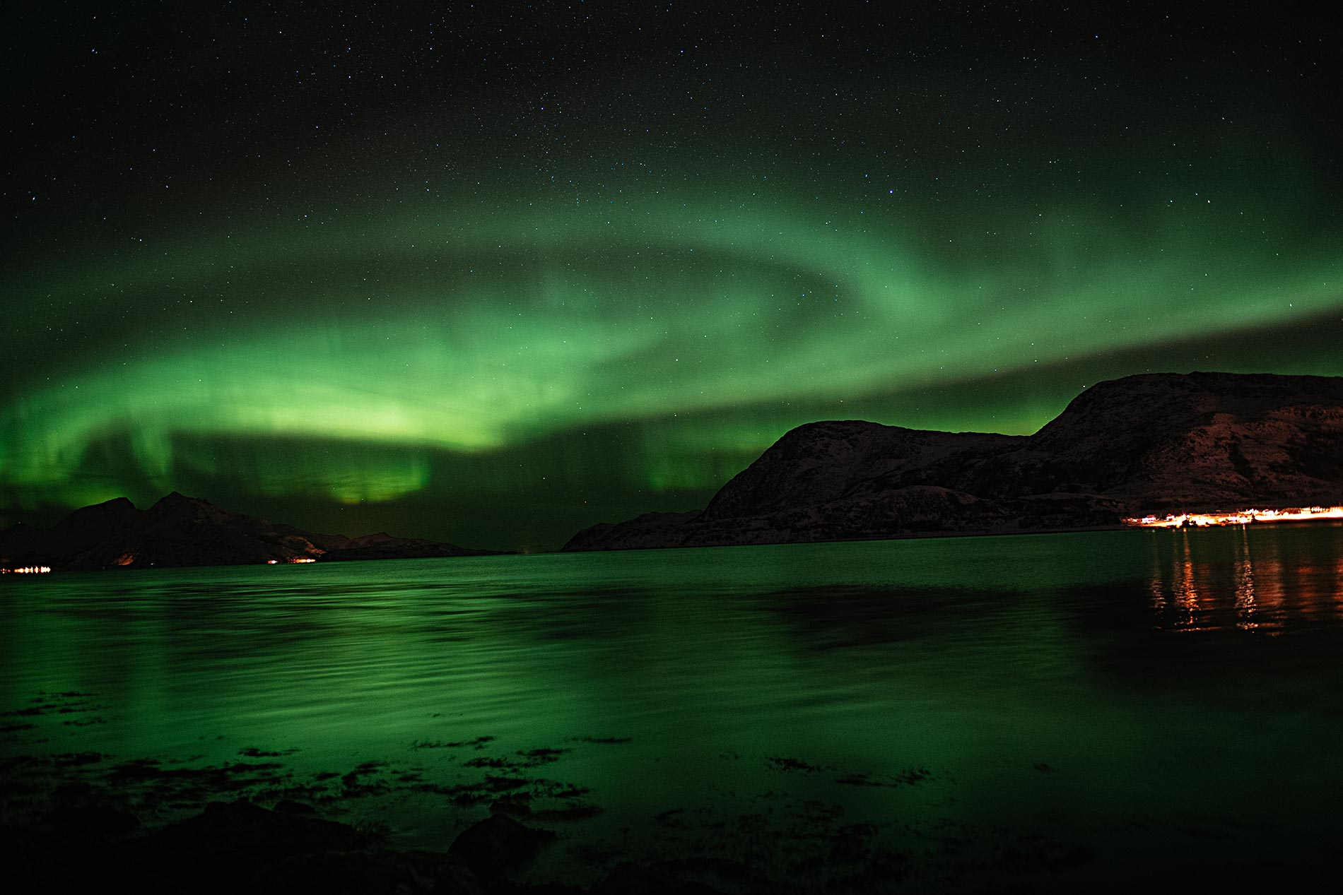 Tromso, Norway, Northern Lights by Jason Jean