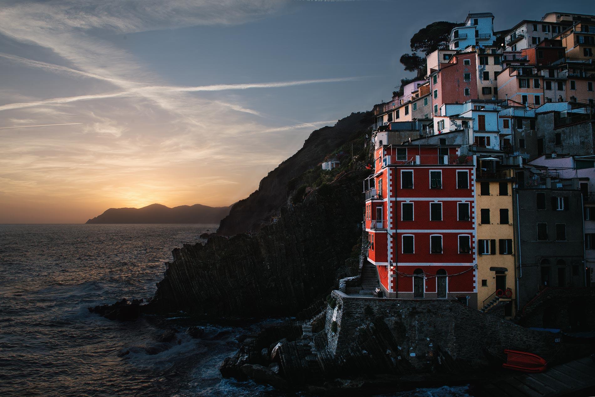 Cinque Terre, Riomaggiore, Italy by Jason Jean